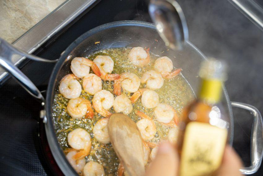 camarão aperitivo