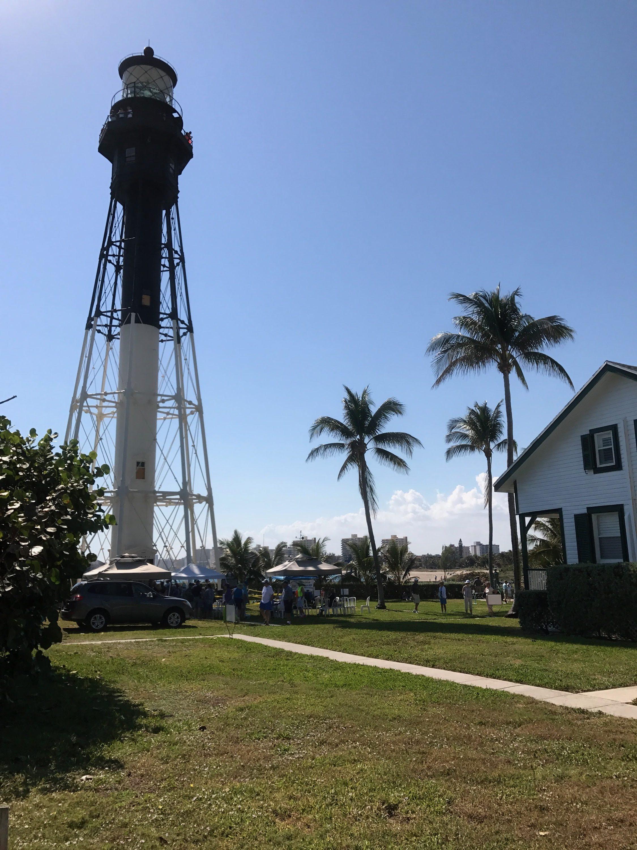 Lighthouse em Pompano Beach.