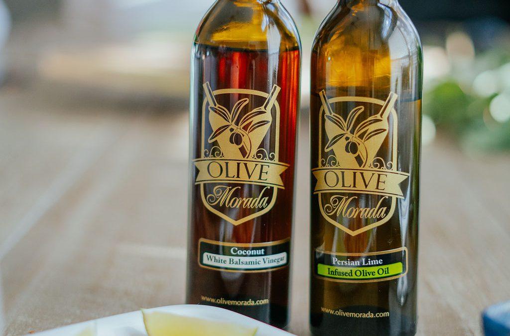 Vinagres e azeites artesanais.